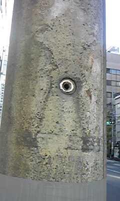 浅草橋から電柱
