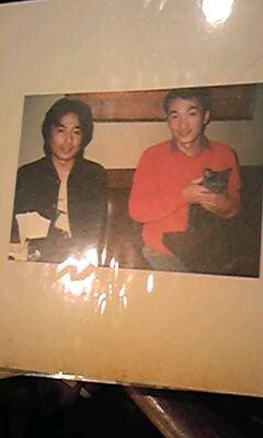 津村と是安の若い頃