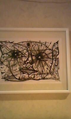 8月にグッドマンで展示している絵