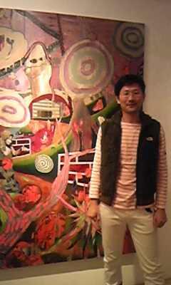 渡辺ユキ君の個展に行きました。