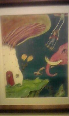 八幡デルソルのマスターの絵
